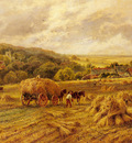 Parker Henry H Harvest Time Lambourne Berks