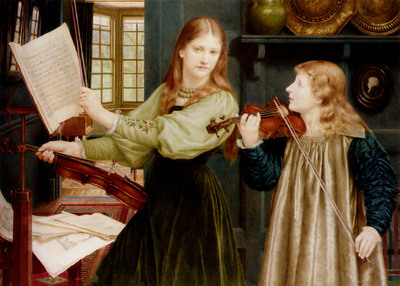 Holiday Henry The Duet Portrait Of Alexandra Daughter Of Rev G Kitchin And Winifrid