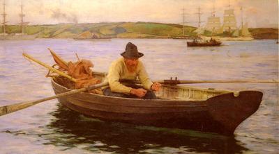 Tuke Henry Scott The Fisherman