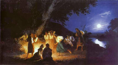 Siemiradzki Henryk Night on the Eve of Ivan Kupala