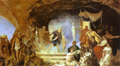 Siemiradzki Henryk Orpheus in the Underworld