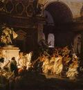 Siemiradzki Henryk Roman Orgy in the Time of Caesars