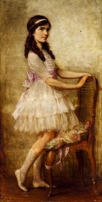 Draper Herbert James Portrait Of Miss Barbara De Selincourt