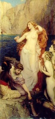 Draper Herbert The Pearls of Aphrodite