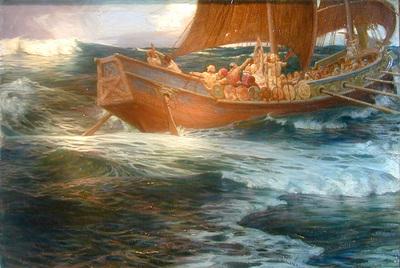 Draper Herbert Wrath of the Sea God dt3