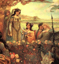 Draper Herbert James Lancelot and Guinevere