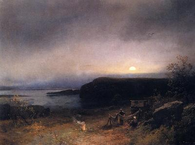 Herzog Herman Campfire in Moonlight