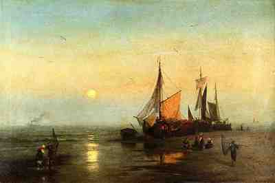 Herzog Herman Moonlit Fishing Scene