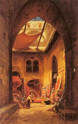 Corrodi Hermann David Salomon Arab Carpet Merchants