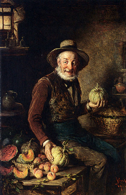 Kern Hermann The Pumpkin Seller