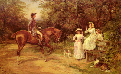 Hardy Heywood A Meeting By The Stile