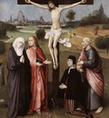 BOSCH Hieronymus Crucifixion With A Donor