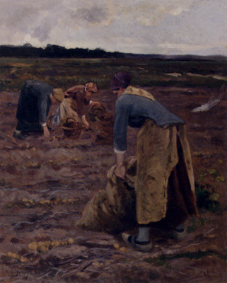 Delpy Hippolyte Camille The Potato Gatherers