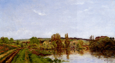 Delpy Hippolyte Camille Walking Along The River