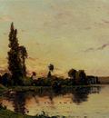 Delpy Hippolyte Camille Washerwomen On A Riverbank