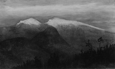 Martin Homer Dodge The White Mountains From Randolph Hill