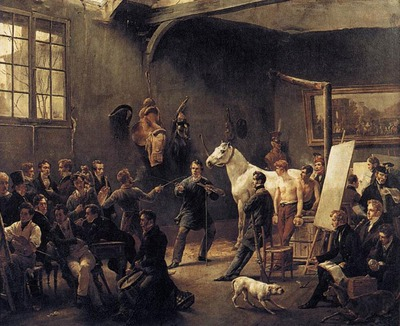 VERNET Horace The Artists Studio