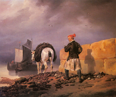 Vernet Horace A Fisherman Setting Out