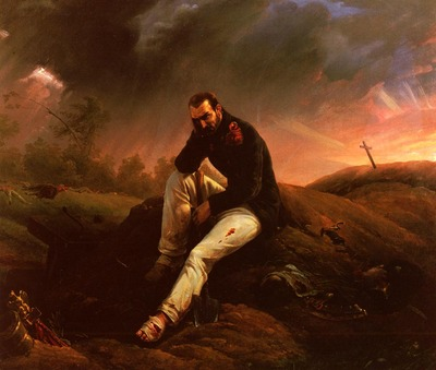 Vernet Horace Le Dernier Grenadier De Waterloo