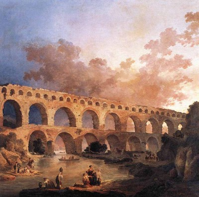 ROBERT Hubert The Pont Du Gard