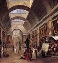 ROBERT Hubert Design For The Grande Galerie In The Louvre