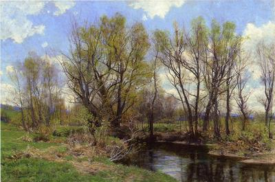 Jones Hugh Bolton Early Spring Near Sheffield Massachusetts