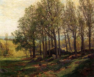 Jones Hugh Bolton Maples in Spring