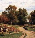 Jones Hugh Bolton A Country Path in Summer