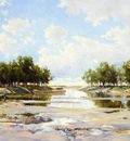 Jones Hugh Bolton Inlet at Low Tide