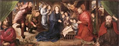 GOES Hugo van der Adoration Of The Shepherds
