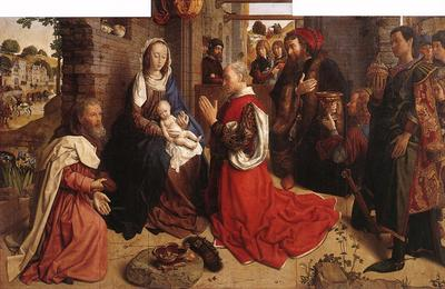 GOES Hugo van der Monforte Altarpiece