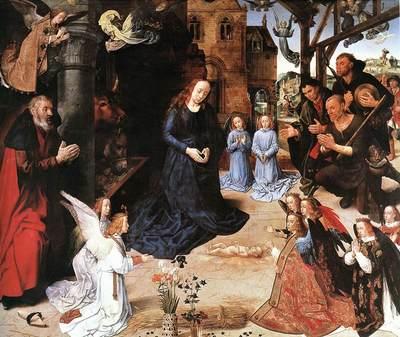 GOES Hugo van der The Adoration Of The Shepherds