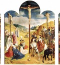 GOES Hugo van der Calvary Triptych