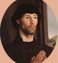 GOES Hugo van der Portrait Of A Man