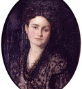 Camarlench Ignacio Pinazo Retrato de Dona Teresa Martinez esposa del pintor