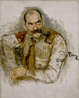 Repin A  Gallen Kallelan muotokuva