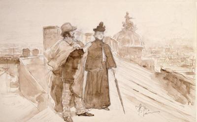 Repin Ksenia ja Nedrov Pietarin