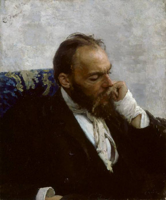 Repin Portrait of Professor Ivanov