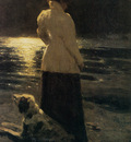 Repin Iliya Moon night