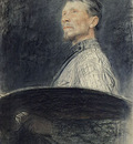 Repin Portrait of A E  Arkhipov