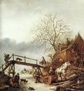 OSTADE Isaack van A Winter Scene
