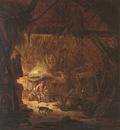 OSTADE Isaack van Interior Of A Peasant House