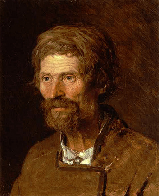 Kramskoi Head of an Old Ukranian Peasant