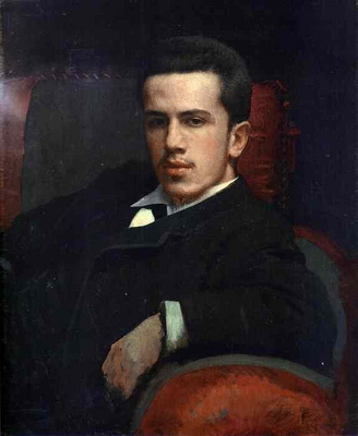 Kramskoi Portrait of Anatoly Kramskoy the Artist s Son