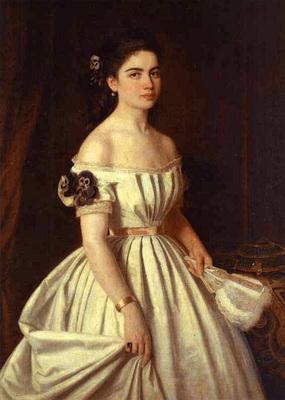 Kramskoi Portrait of E  Vasilchikova