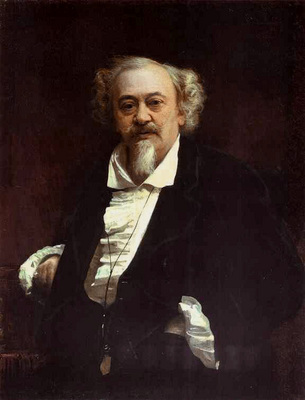 Kramskoi Portrait of the Actor Vasily Samoilov