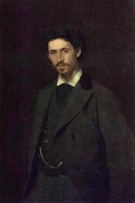 Kramskoi Portrait of the Artist Ilya Repin