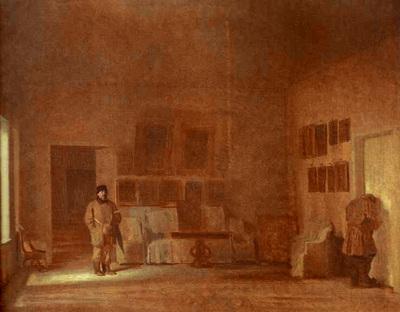 Kramskoi Viewing an Old House