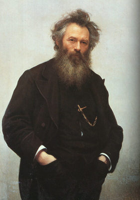 Portrait of Ivan I Shishkin