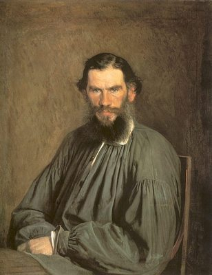 Portrait of the Writer Leo Tolstoy
